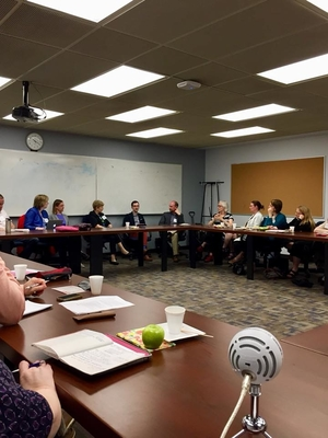 Participants at OC's Greater Toronto Area Workshop in discussion