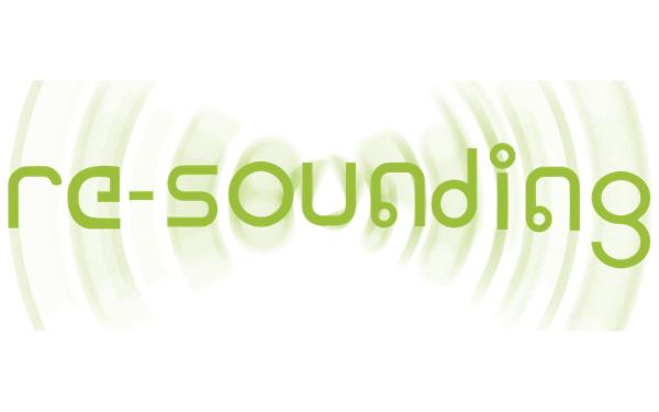Re-sounding logo
